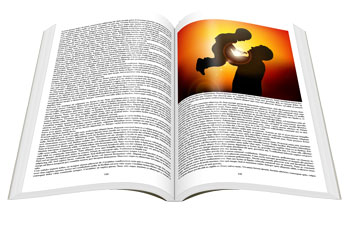 black and white or color book printing instantpubsliher